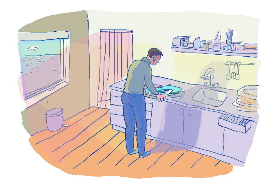 Illustration cooking